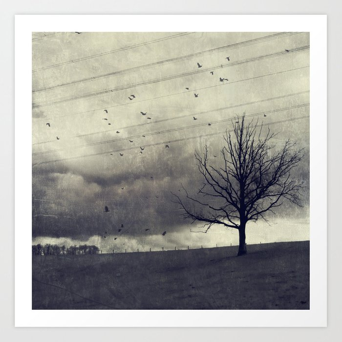 one of these days - autumn mood Art Print