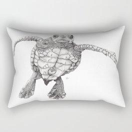 Chelonioidea (the turtle) Rectangular Pillow