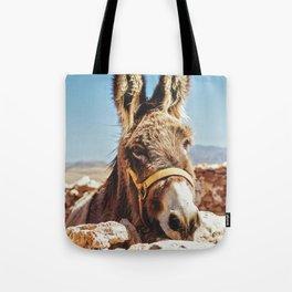 Donkey photo Tote Bag
