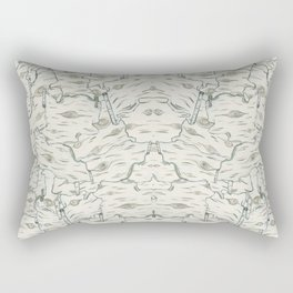 birch bark Rectangular Pillow