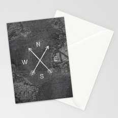 Compass (Map) Stationery Cards