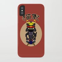 army iPhone & iPod Cases featuring Cat Army by BATKEI