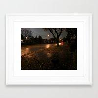 the neighbourhood Framed Art Prints featuring NEIGHBOURHOOD by andre vautour