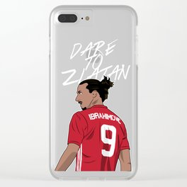 Zlatan Clear iPhone Case