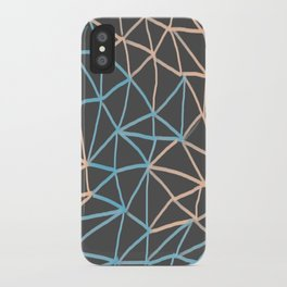 Non-linear Points iPhone Case