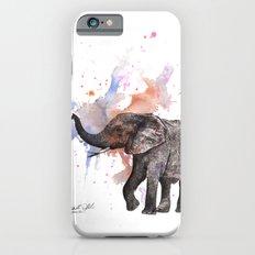 Dancing Elephant Painting Slim Case iPhone 6