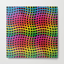 Colorful abstract 202 Metal Print