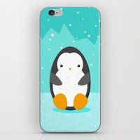 penguin iPhone & iPod Skins featuring Penguin by eDrawings38