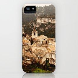 Les Baux de Provence iPhone Case