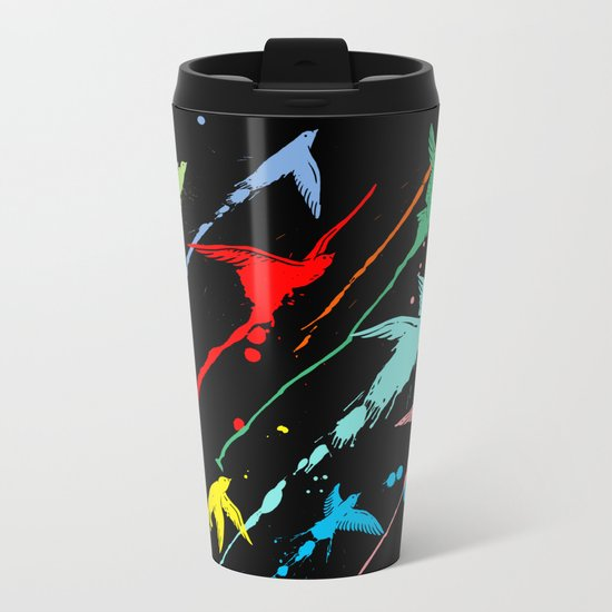 Flying colors Metal Travel Mug
