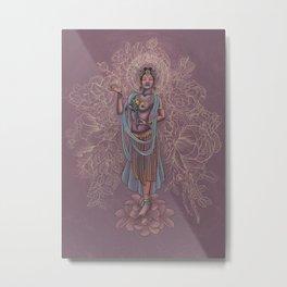 Kwan Yin Metal Print