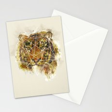 Geo Tiger Stationery Cards