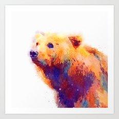 The Protective - Bear Art Print