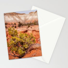 Hanging on the cliff at Kodachrome Basin State Park Stationery Cards