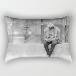 Canal St Martin I Rectangular Pillow