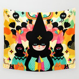 Magical Friends Wall Tapestry