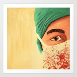 Surgery Art Print
