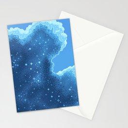 8bit Glacier Galaxy: Art Along #2 Stationery Cards