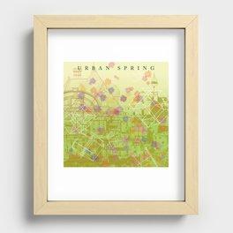 Urban Spring Recessed Framed Print