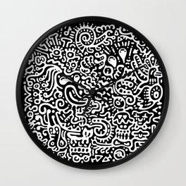 Detached Retina Wall Clock