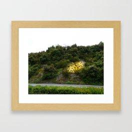 a fleur de peau Framed Art Print