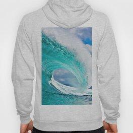 Wave Series Photograph No. 28 - Ocean Blue Hoody