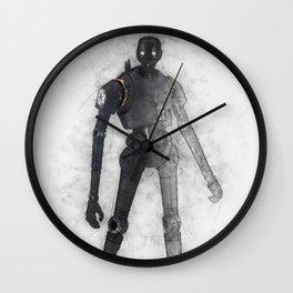 k2so from wars star Wall Clock