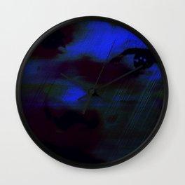 Burning Eyes 02 Wall Clock