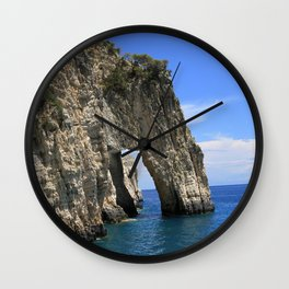 Zakynthos III Wall Clock