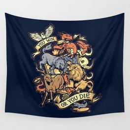Win or Die Wall Tapestry