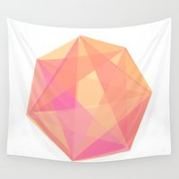 gem Wall Tapestries featuring Gem by Nic Squirrell