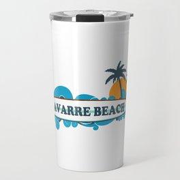 Navarre Beach - Florida. Travel Mug