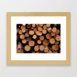 stockpile Framed Art Print