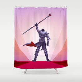 Champion of Kirkwall Shower Curtain
