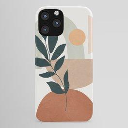 Soft Shapes IV iPhone Case