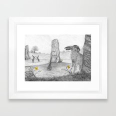 Rites of Spring (updated) Framed Art Print