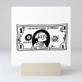 MONEY Mini Art Print
