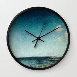 Blackening Skies Wall Clock