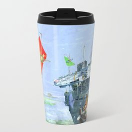 Sky Yacht Race Travel Mug