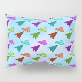Paper Fliers Pillow Sham