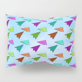 Paper Fliers Pillow Sham