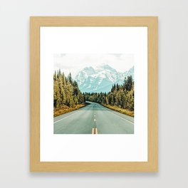 Road Trip #photography #travel Framed Art Print