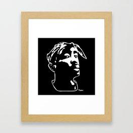 PORTRAIT OF A RAP LEGEND Framed Art Print