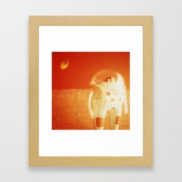 Mars is Cold and Lonely Without You Framed Art Print
