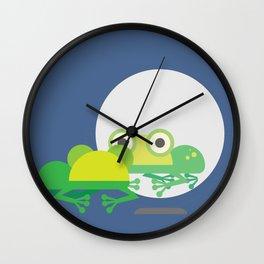 I looke like a frog Wall Clock