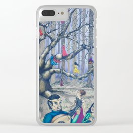 Excerpt from the Oldest Recorded Fairytale Clear iPhone Case
