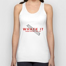 Whack it - Zombie Survival Tools Unisex Tank Top