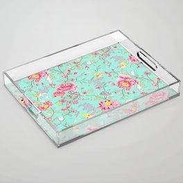 Hatsumo Exquisite Oriental Pattern III Acrylic Tray
