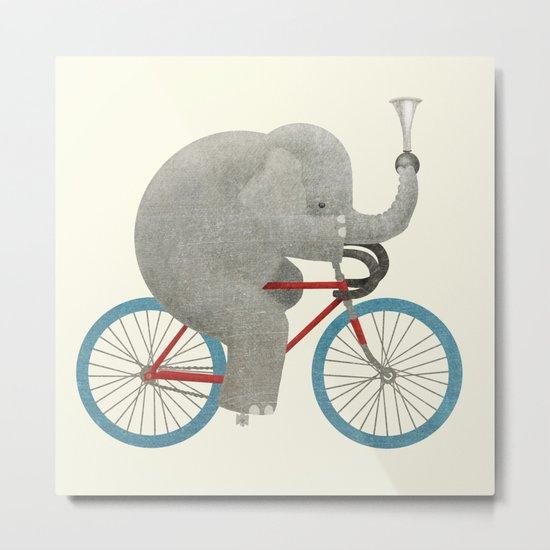 Ride (colour option) Metal Print