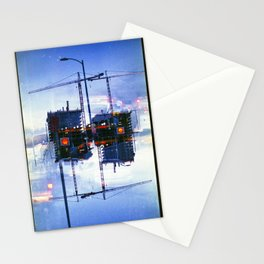 America ducking the question of origins (35mm multiple exposure) Stationery Cards